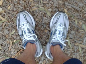 My New Balance Running Shoes