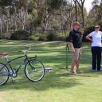 Greenest athlete award: free bike!