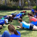 Pushup contest