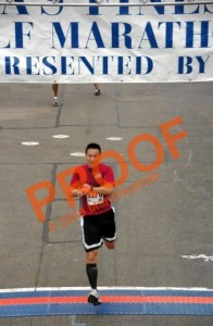 America's Finest 5K Run Finish Line