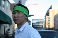 green-bandana