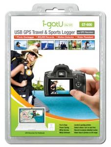 i-gotU GT-600 USB GPS Travel & Sports Logger