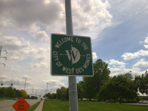 West Des Moines Sign