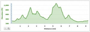 dirt devil 15k elevation chart