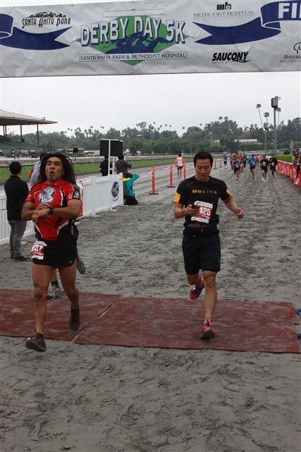 Santa Anita Derby Day 5k Race Report Trail Running Blog