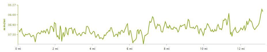 carlsbad half pace chart
