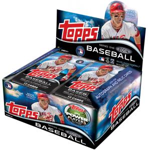 topps baseball foil packs