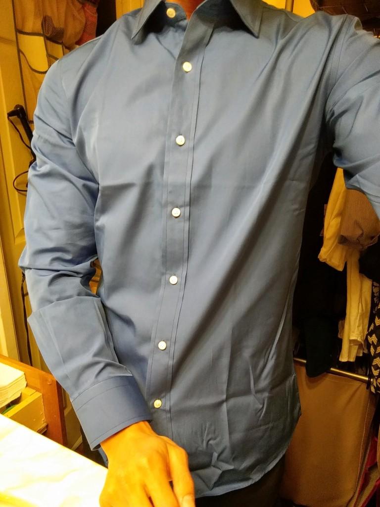 Mtailor Custom Tailored Dress Shirts