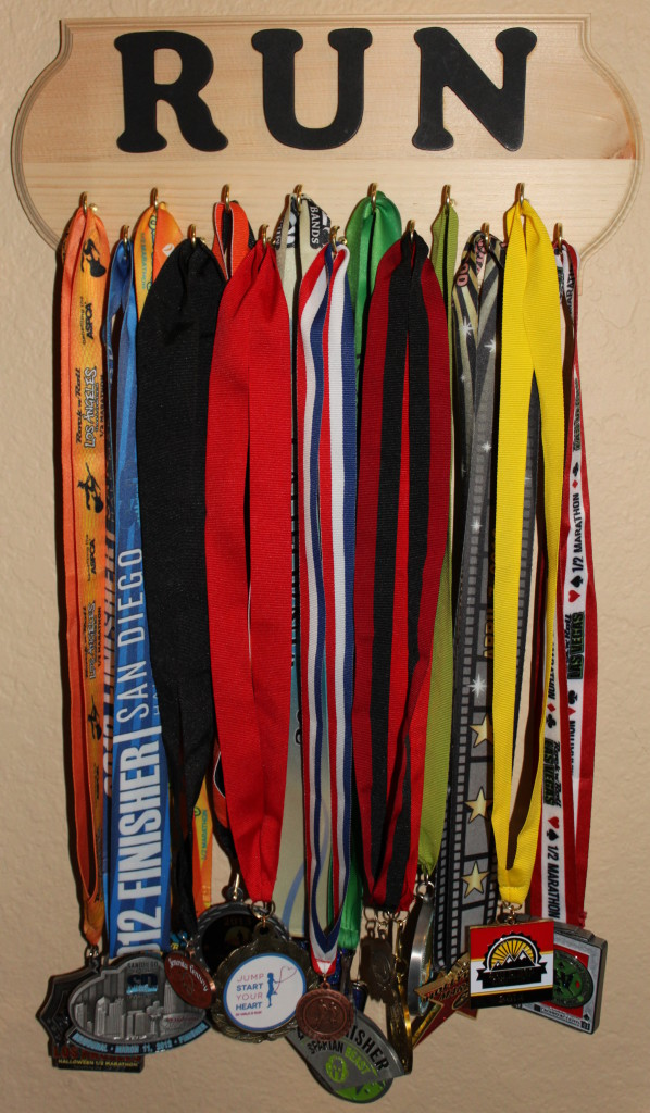 Race Medal Display Rack