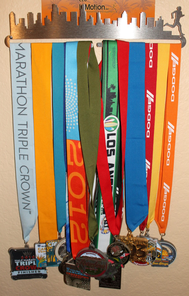 Metal Race Medal Display