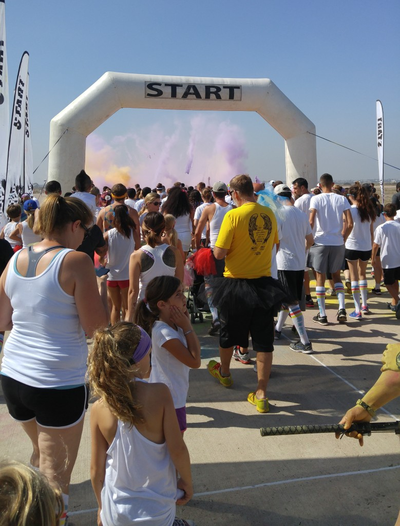 Color Me Rad start line