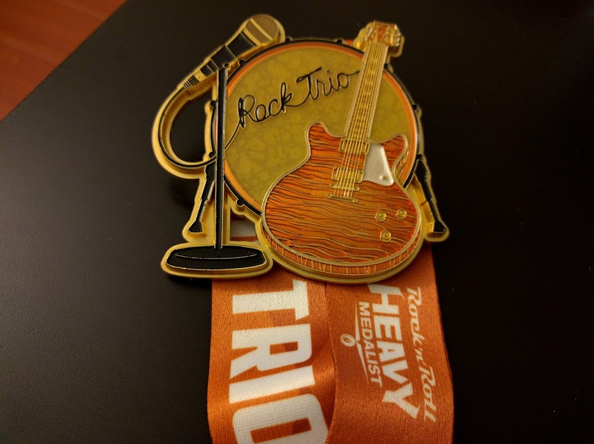 rock trio medal